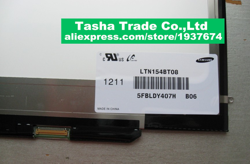 For Apple Macbook Pro A1286 LCD Screen Panel Disapy LTN154BT08 1440*900 Tested Before Shipping wholesale original new laptop a1706 lcd screen 13 for apple macbook pro a1706 lcd screen display panel 2016 year working tested