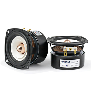 Image 4 - AIYIMA 2Pcs 3Inch Mini Audio Portable Speakers 4Ohm 8Ohm 15W Full Range Hifi Bass Speaker Altavoz Portatil Speaker DIY