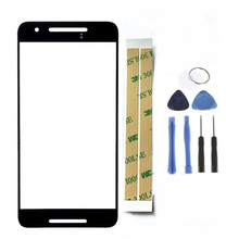 For Google Nexus 6P Front Glass Panel Replacement Phone Screen Repair Parts for Huawei Outer Lens Cover