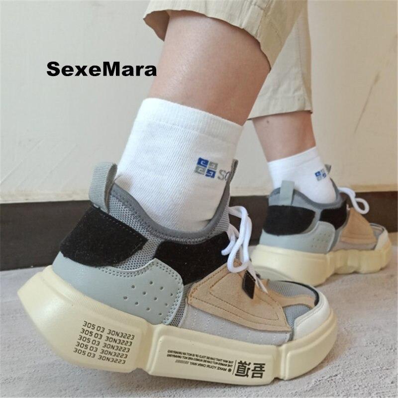 2018 Estate Sandali Sneakers Uomo Mesh Scarpe Da Corsa Per Donna Scarpe Sportive Della Piattaforma Della Donna Scarpe Da Ginnastica Atletica Zapatos Mujer