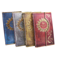 Registered Mail 2016 1pcs New Mysterious Retro Magnet Buckle Magic Notebook Diary European Notepad Page 192