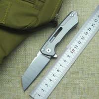 Hohe qualität mechanische krieger folding messer lager D2 klinge stahl griff outdoor camping multi-zweck jagd EDC werkzeug