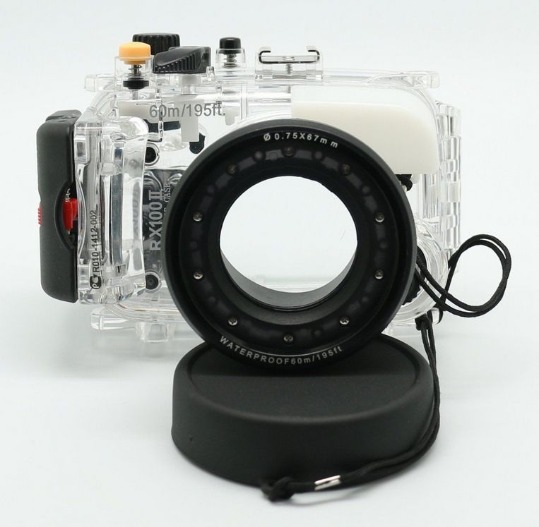 Meikon 40M Waterproof Underwater Camera Housing Diving Case for SONY RX100 ii 6mbi100l 060 good use of quality assured