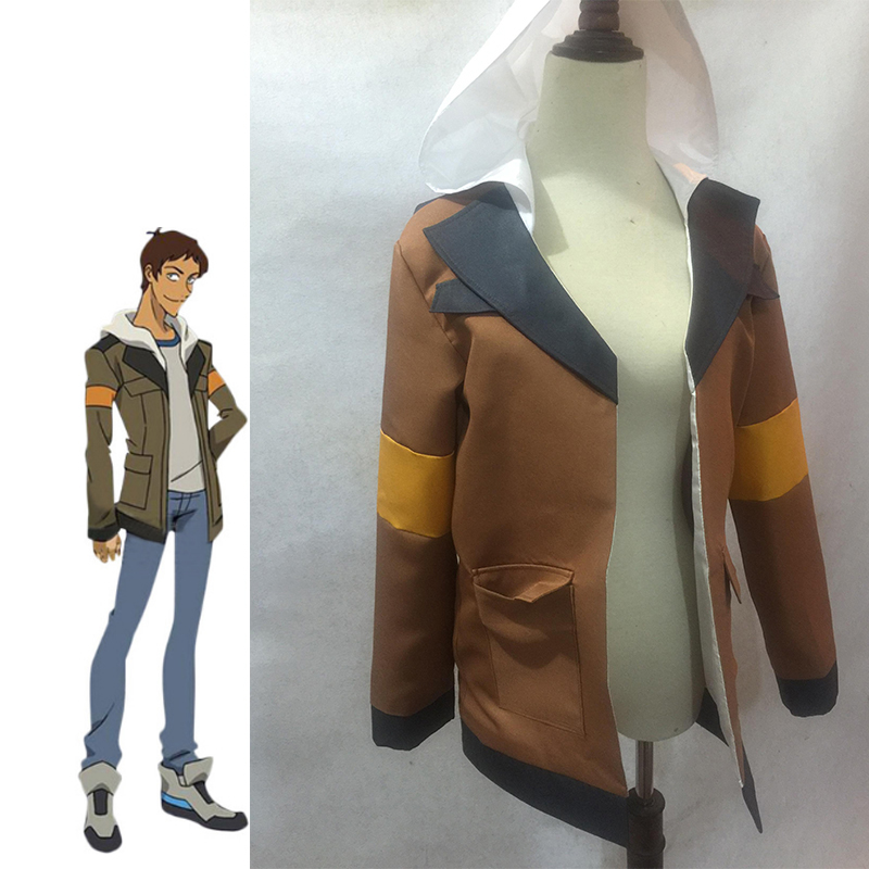 American Cartoon Voltron: Legendary Defender Lance Cosplay Costume Halloween Carnival Coat Adult Hooded Jacket Custom Made