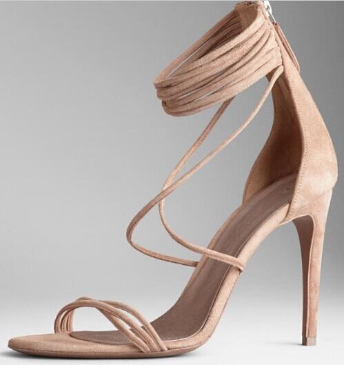 Strappy Beige Sandals Reviews - Online Shopping Strappy Beige