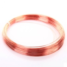 20meters/lot  Diameter:0.5mm Copper wire red conductive copper