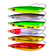 6PCS/Set Crankbait 6 Color Fishing lure Hard Bait 3.54-9cm Crank 0.71oz-20g Tackle Jig Hook Style