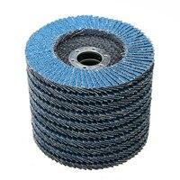 10pcs Lot 115mm 4 1 2 7 8 Premium Zirconia Grinding Wheel Flap Disc 40 Grit