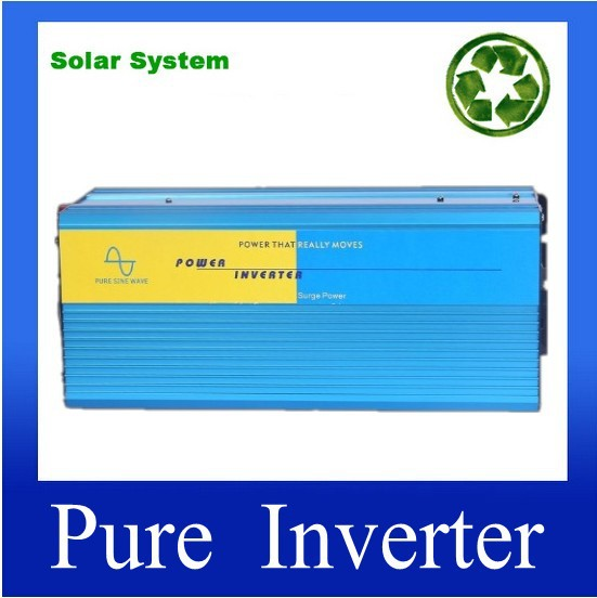 цена на inversor 2500W Pura Onda 2500w 5000w power inverter DC 12V 24V 48V to AC220V for solar wind generation vehicle boat