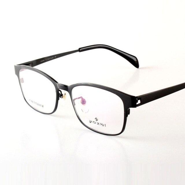 2016 New 100% Titanium Glass Frame Men Eyewear Quality Optical Lens Myopia Gafas Reading Glasses