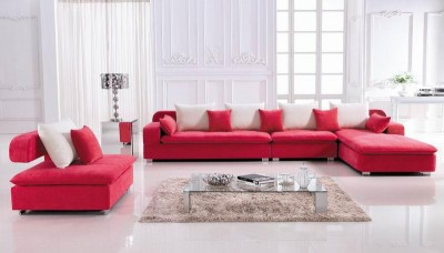 America Home Decorators Living Room Fabric Sofa B852 Living Room L Shaped Fabric Corner Modern