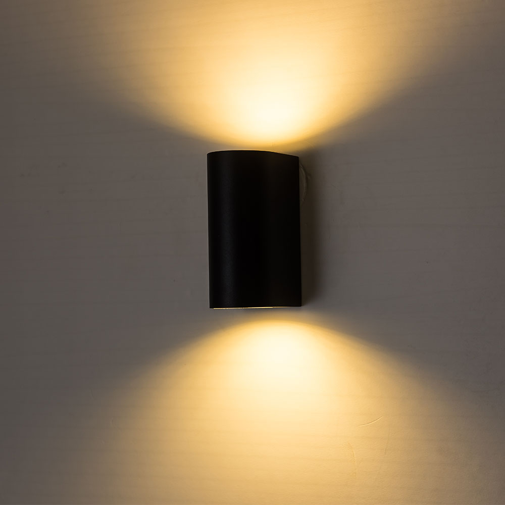 Image 2 - ZMJUJA Outdoor 2W 4W 6W 8W 10WLED Wall Lamps AC100V/220V Aluminum indoor Decorate Wall Sconce bedroom LED Wall Light-in LED Indoor Wall Lamps from Lights & Lighting