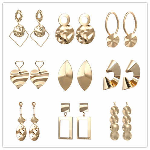 Boho европейские металлические серьги, индийские украшения, Необычные геометрические серьги, серебряное Золотое любовное сердце, серьги
