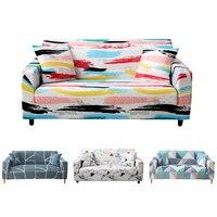Estiramento sofá slipcover capa poliéster elastano para l-forma canto secional sofá poltrona capa decoração para casa 1/2/3/4-seater
