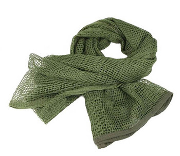 190*90cm Cotton Military Camouflage Tactical Mesh Scarf Sniper Face Veil Camping Hunting Multi Purpose Hiking Scarve 5