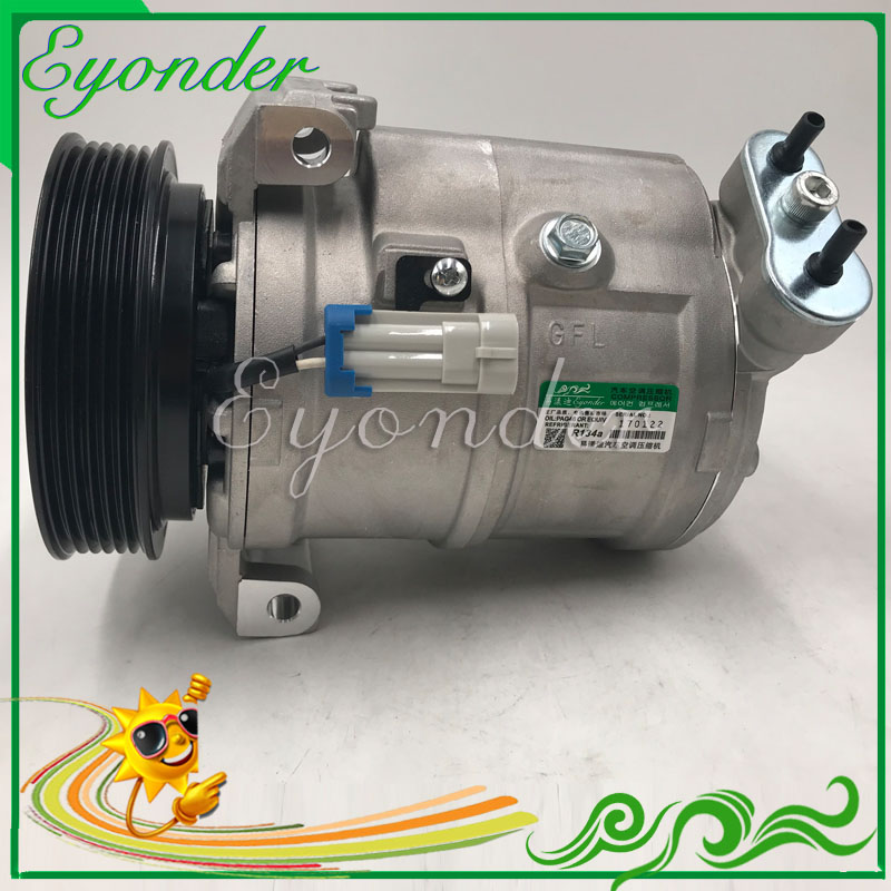 CSP15 AC A/C Aircon Air Conditioning Compressor Cooling Pump for Chevrolet CRUZE J300 1.6 1.8 2009 on 13271258 13250596 13250601