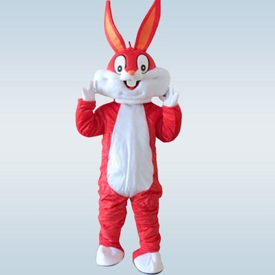 Bunny Mascot Rabbit Mascot Costume For Hallween Carnival Festivals Party Dress Cartoon Appearl Halloween Birthday Cosplay