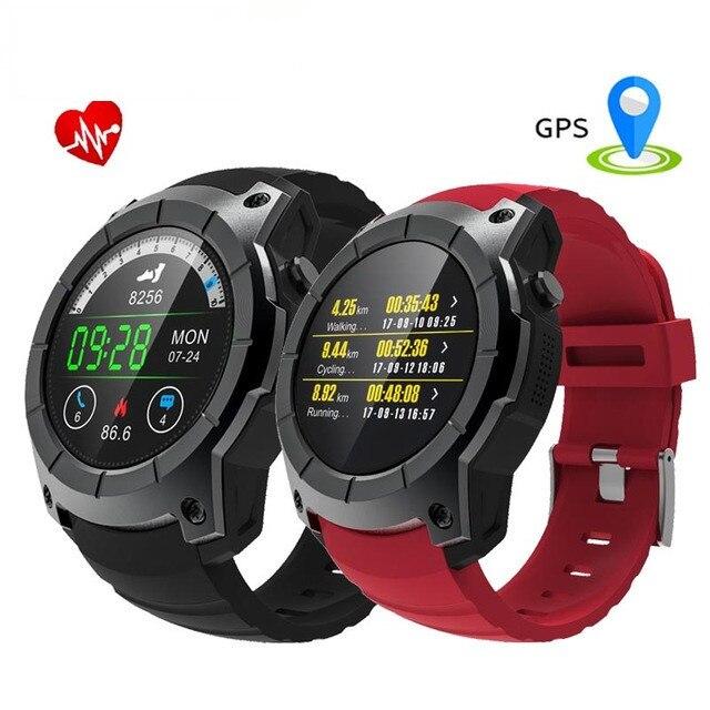 S958 GPS Montre Smart Watch Hommes BeiDou AGPS Baromètre Smartwatch Femmes Coeur taux SIM Carte MultiSport Chronomètre Montre Smart Watch IOS Android