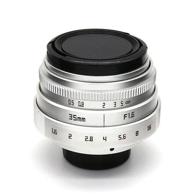 Industrial Style Len style fujian 35mm f1 6 c mount cctvcamera lens ii for fuji