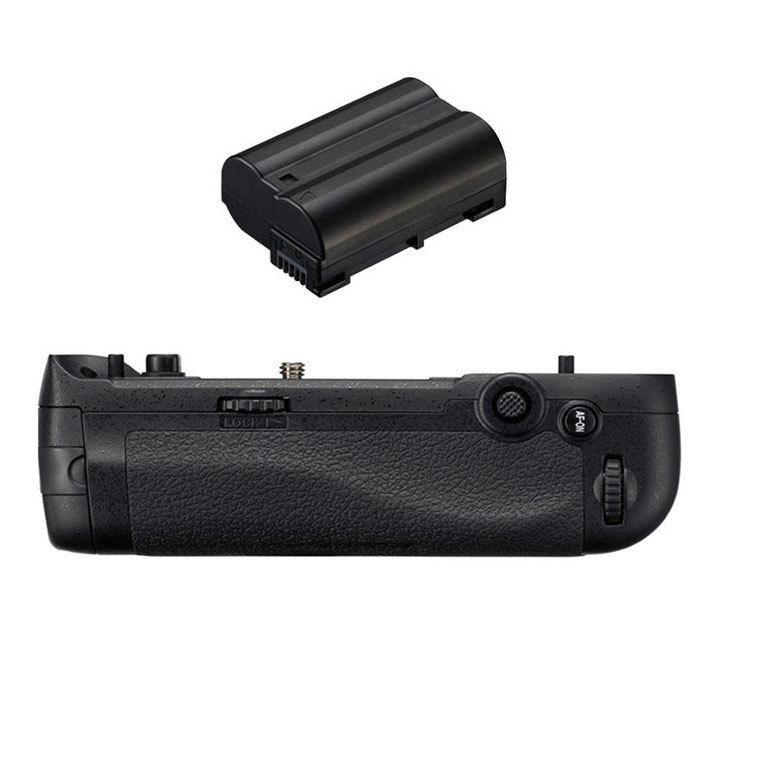 Jintu Vertical Battery Grip holder 1x Decode ENEL15 battery Kit Set For Nikon D500 DSLR Camera