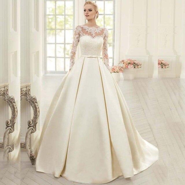 Miedoso Vestidos Elegantes Simples De La Boda Ideas Ornamento ...