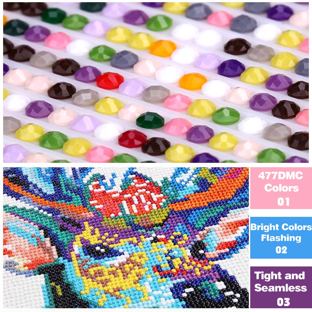 Disney Diamond Painting full square disney house DIY Diamond embroidery full round leopard Diamond painting Mosaic 5D drill in Diamond Painting Cross Stitch from Home Garden