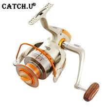 Europe Hot-selling EF – 7000 Metal Spool Spinning Fishing Reel Carretilha Pesca Wheel 10-Ball Bearing 5.5 :1 Fishing Reel Bait