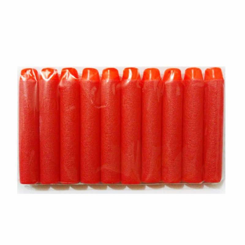 100PCS עבור נרף כדורים רך חלול חור ראש 7.2cm מילוי חצים צעצוע אקדח כדורים עבור נרף סדרת Blasters חג המולד קיד ילדי Gif
