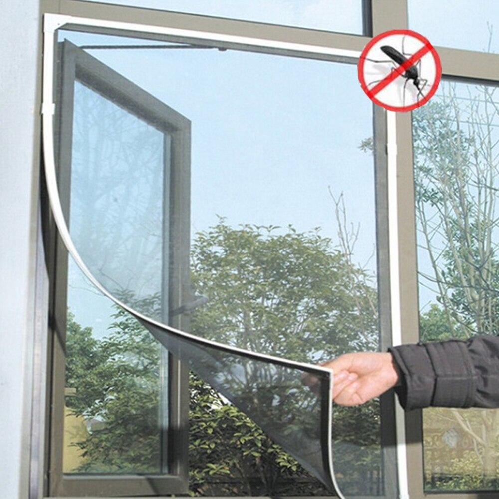 150X130cm Anti-Insect Fly Bug Mosquito Door Net Mesh Screen Protector Door Window Net Mesh Fly Bug Curtain Flyscreen