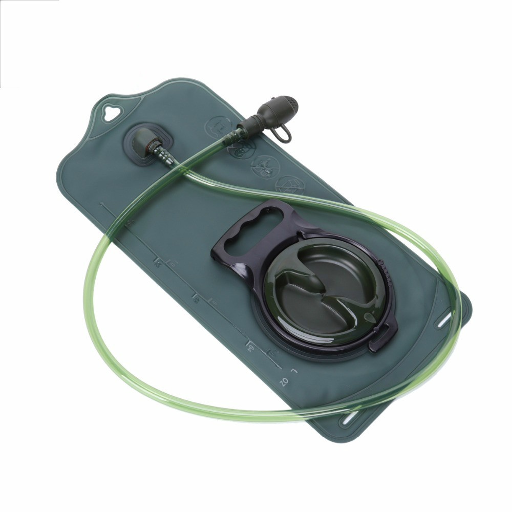 2L/3L Water Bag Military TPU Hydration Bladder Camping Hiking Climbing Bicycle Outdoor Sport Gear Accessories-in Water Bags from Sports & Entertainment