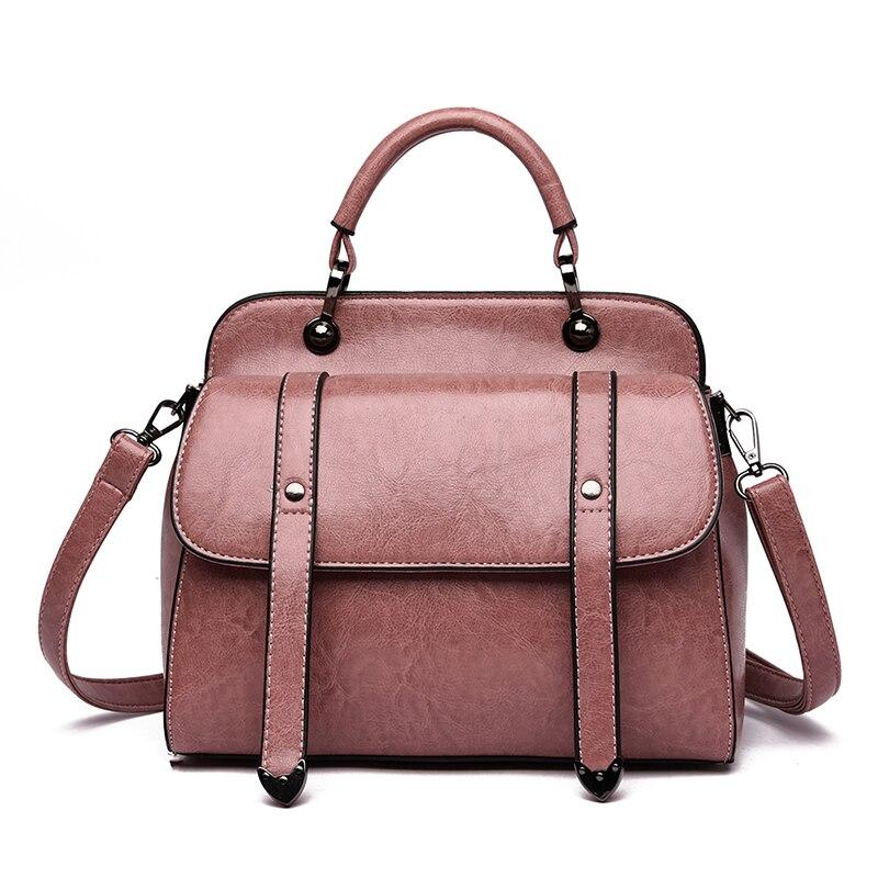 Women Bag 2019 Vintage Handbag Luxury Designer Shopper Tote Women Messenger Bags Shoulder Top-Handle Purse Wallet Tote Black Bag
