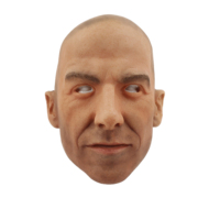 Super Realistic Silicone David Beckham Head Mask for Halloween Party Costume