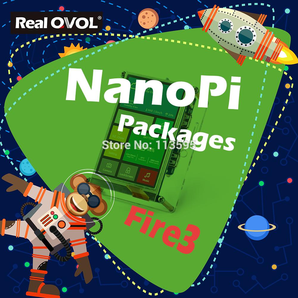 NanoPi NanoPi Fire3 KIT S5P6818 1 4GHz CPU 1GB DDR3 GPIO Port with S430 4 3inch