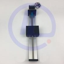 STK Effective Travel 200mm T8*8 8MM T-screw Ball Screw Linear Guide Moving Table Slide Rail+Nema 17 Stepper Motor