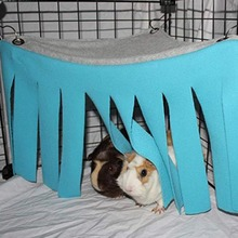Pet укрытие угол Ткань кисточки для занавесок Hideaway для морской свинки хорек Шиншилла ежик крыса белка кролик