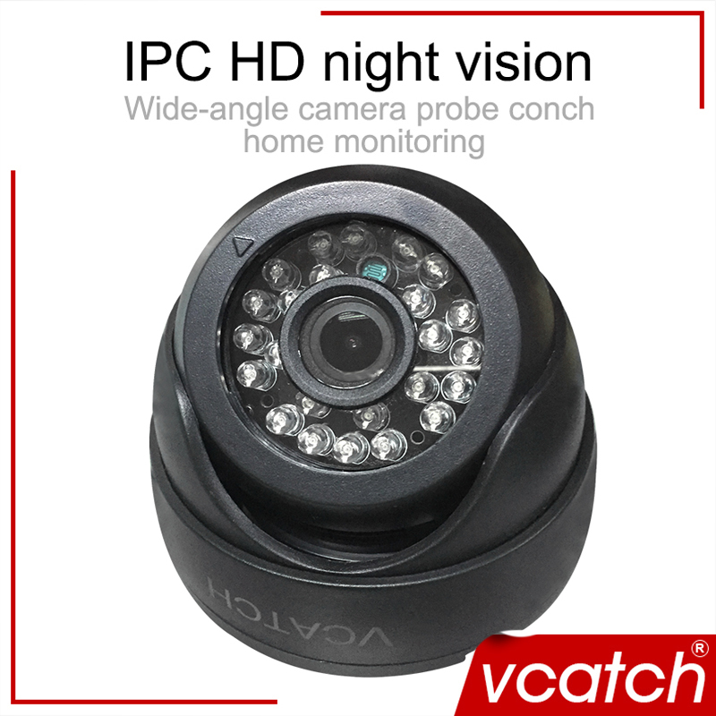 Vcatch 720P HD IP Camera Network Mini CCTV P2P Monitor Security Camera Indoor Dome Camera ONVIF H.264 Free shipping 720p hd ip network 1 0megapixel 3 6mm onvif ir cut p2p security dome camera free shipping