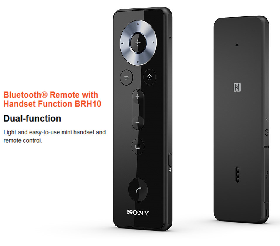 ORIGINAL Bluetooth Remote Control with Handset Function BRH10 Fit for SONY Xperia Z2 Android 4