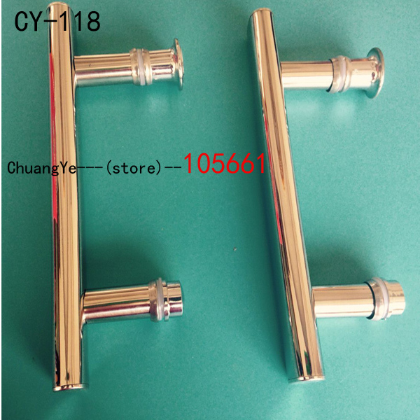 Hotel Home Decorate Abs Bathroom Shower Room Glass Door Pull Handle