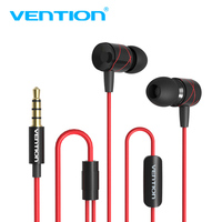 Vention In Ear Earphone Metal Noise Cancelling In Ear Earpiece With Microphone For Iphone Xiaomi Samsung