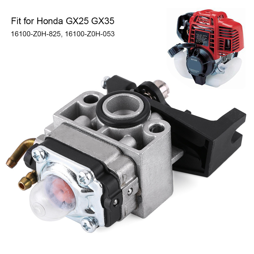 Carburetor Carb Replaces for Honda GX25 GX35 16100-Z0H-053 Manufactured and tested to help deliver optimum engine capabilityCarburetor Carb Replaces for Honda GX25 GX35 16100-Z0H-053 Manufactured and tested to help deliver optimum engine capability
