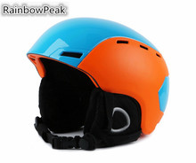 New ski helmet Snowboarding cap adult ski hat men and women snow mountaineering rock climbing outdoor extreme sports equipment