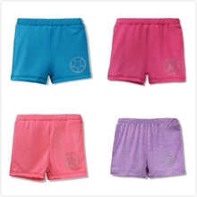 Baru 3-10y Girls Kids Soft Ballet Shorts Candy Warna Kanak-kanak Summer Multifunction Dancewear Beachwear Legging Seluar pendek Seluar pendek