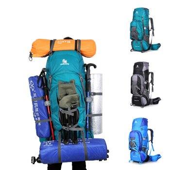80L Travel Bag Outdoor Climbing Backpacks Hiking Rucksacks Sport Bag Mountain Men Waterproof Backpack for Women Men