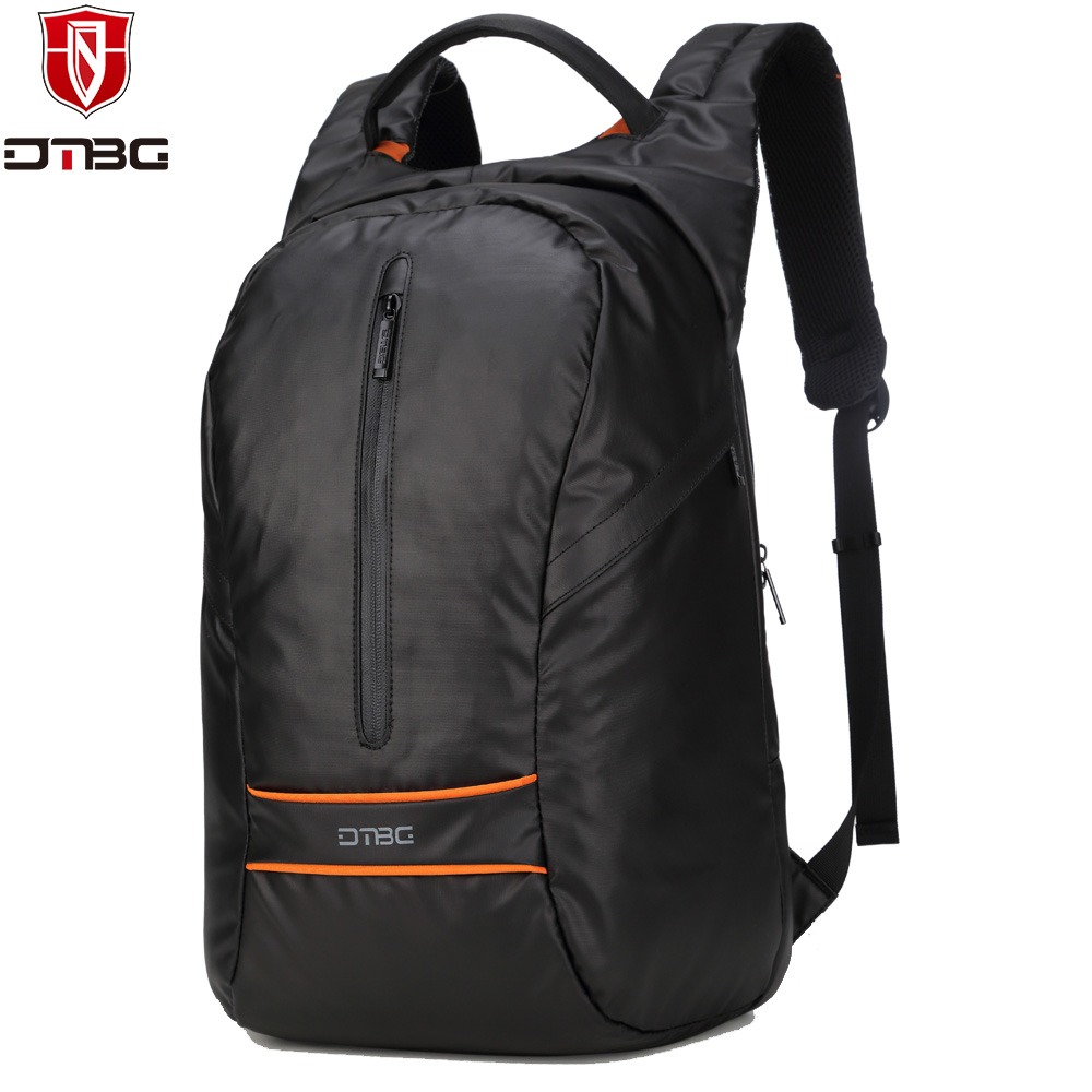 DTBG Laptop Backpack Nylon Computer Notebook Backpacks 15.6 inch Travel School Bag for Man WomenTeens Waterproof Back Pack kingsons brand waterproof men women laptop backpack 15 6 inch notebook computer bag korean style school backpacks for boys girl