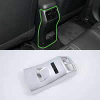 Car Interior rear air vent cover Trim Molding ABS matte Car Styling Auto Accessories For 2018 KIA Sportage