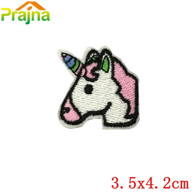 Hot Sale Cheap Embroidery Unicorn Patch Badges For Clothes Stickers
