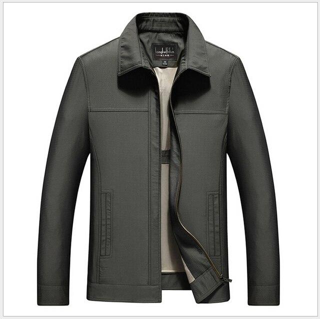 М-3XL!!!! 100% Хлопок 2015 Новый Бренд Весна Лето Случайные Люди Куртка Мужская Куртки И Пальто Армия Ветровка Мужская Пальто