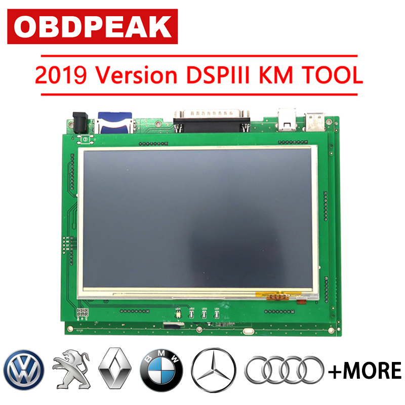 2019 Version Odometer Correction Tool DSP3 DSPIII KM Tool DSP 3 DSP III Work For 2010-2019 Years New Models By OBD2
