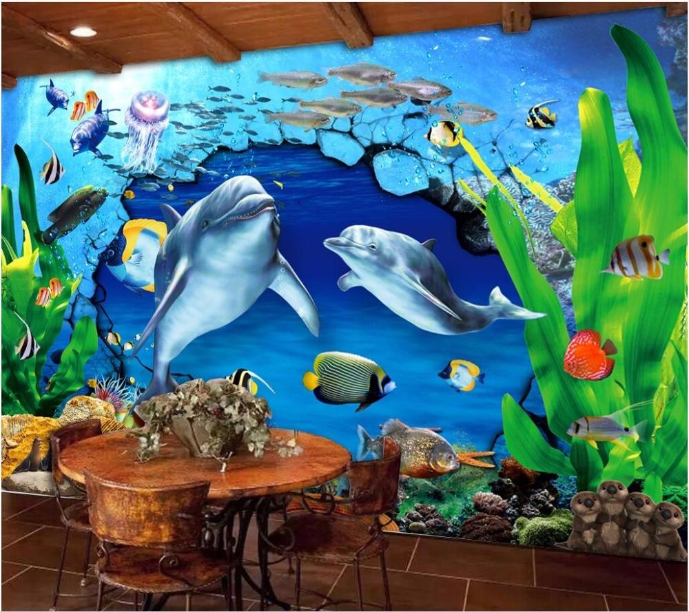 Lukisan Dinding Bawah Laut Sabalukisan