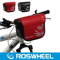 Roswheel Waterproof Bike Bicycle Handlebar Bag Cycling Front Camera Bag Baskets Durable